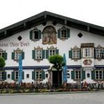 Альпийская деревушка Обераммергау